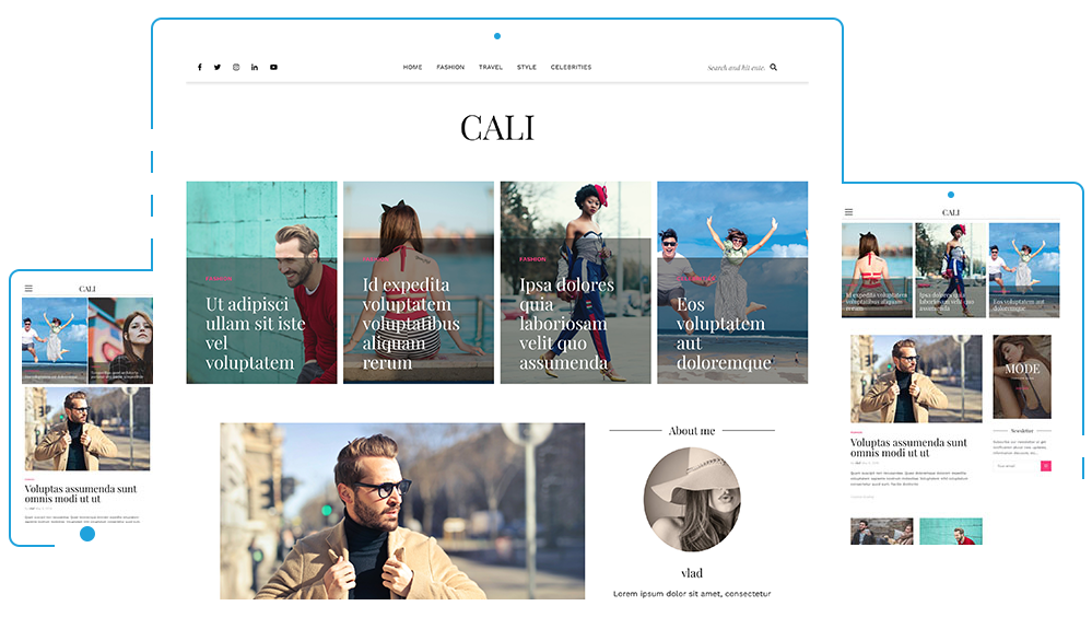 Athemes.com – Free WordPress themes – CALI